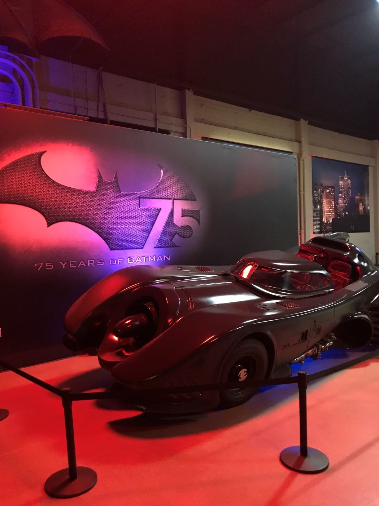 Up close and personal with the vehicles from the Batman movie franchise